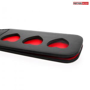 ШЛЁПАЛКА L 320 мм, цвет чёрный/красный арт. NTB-80588