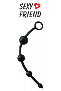 Анальная цепочка Sexy Friend черный