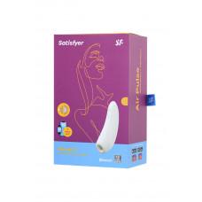 Вакуум-волновой бесконтактный стимулятор клитора Satisfyer Curvy 1+, белый