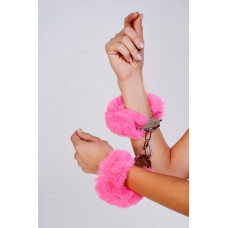 Наручники с пушистым розовым мехом (Be Mine)