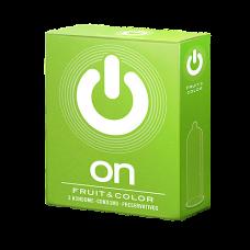 Презервативы ON fruit & color