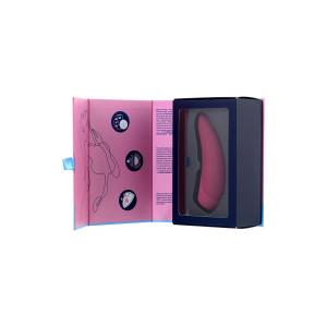 Вакуум-волновой бесконтактный стимулятор клитора Satisfyer Curvy 1+, красный