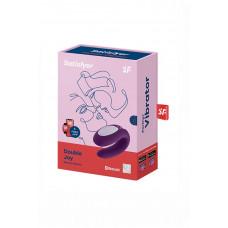 Парный вибратор Satisfyer Double Joy, фиолетовый