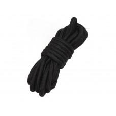 Верёвка 5 метров чёрная