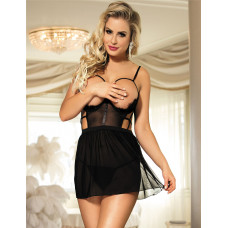 Платье с открытой грудью