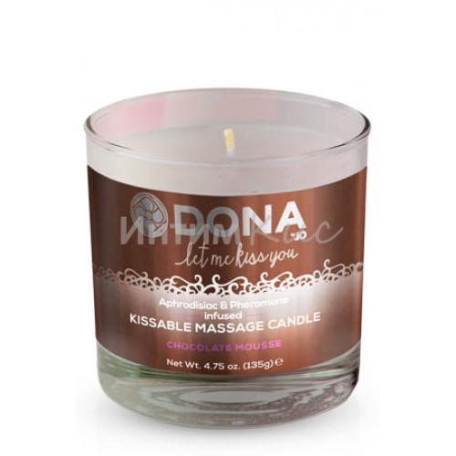 Вкусова массажная свеча Donna Chocolate