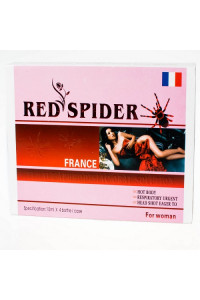 Женские Возбуждающие капли Красный паук Франция