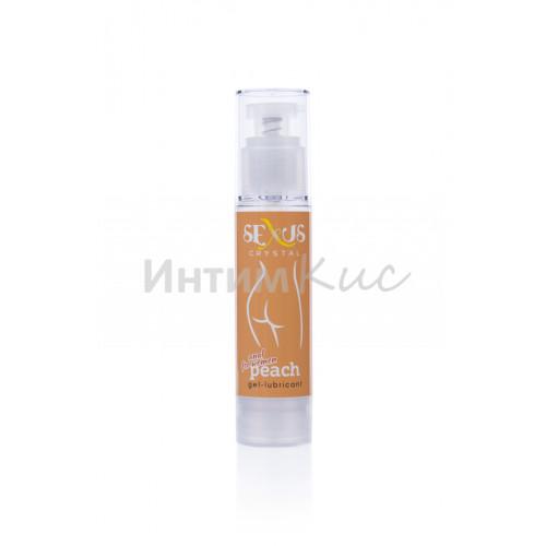 Анальный гель-лубрикант на водной основе для женщин с ароматом персика Crystal Peach Anal 60 мл