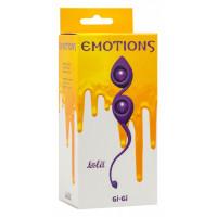 Вагинальные шарики Emotions Gi-Gi Purple