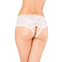 Эротические трусики Erolanta Lingerie Collection белые (50-52)