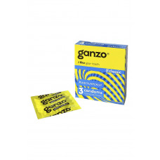 Презервативы Ganzo Classic № 3 Классические с обильной смазкой -ШТ