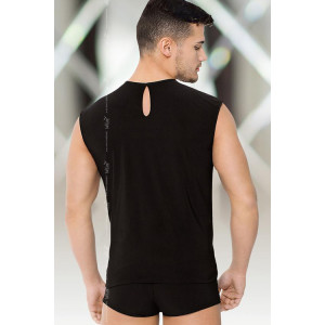 Shirt and Shorts - Майка и шорты черно-белые-M/L
