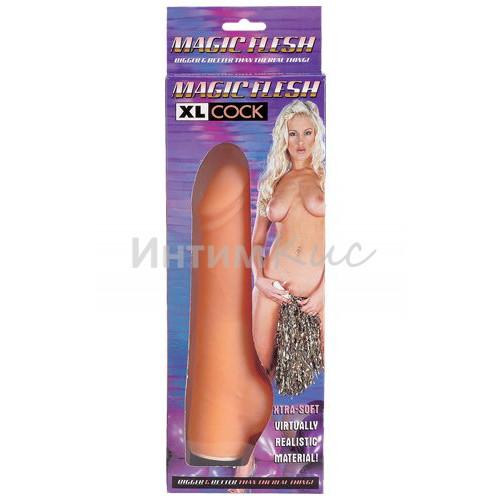 Вибратор Dream Toys Magic Flesh реалистичный, телесный, 20,3 см