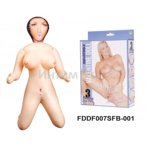 Кукла надувная Элёринг Шаян  (в позиции ''стоя на коленях'' высота 90 см.)