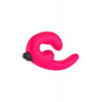 Анатомический страпон Fun  Factory SHAREVIBE  с вибрацией ярко-розовый