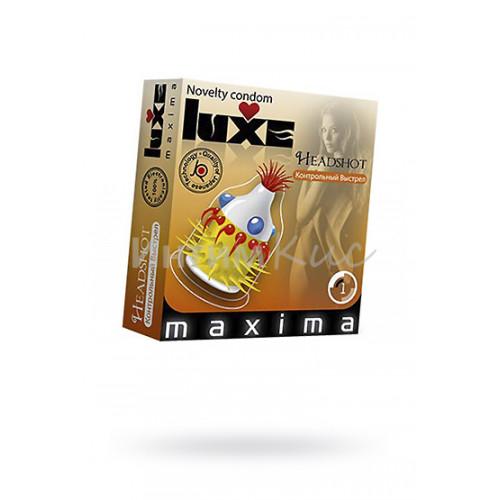 Презервативы Luxe Maxima №1, Контрольный выстрел, 24 шт