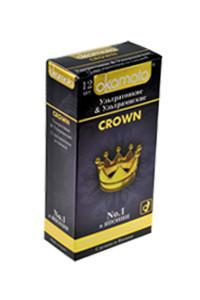 Презервативы Окамото Crown №12Ультратонкие и ультрамягкие -ШТ
