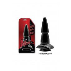Анальная втулка NMC Anal Munition на присоске, черная, 23 см, ?5 см