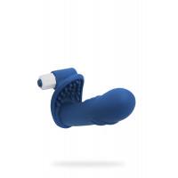 Вибронасадка NMC The Finger на пальцы для вагинально-клиторальной стимуляции, 10 режимов вибрации, с