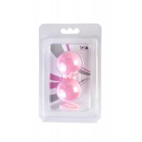 Вагинальные шарики TOYFA, ABS пластик, розовые, ?3 см