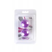 Вагинальные шарики TOYFA, ABS пластик, фиолетовые, ?3 см