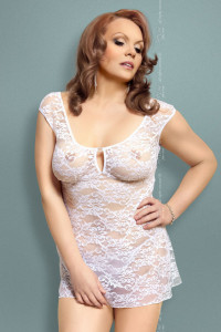 Linley - Ночная сорочка белая-XXL
