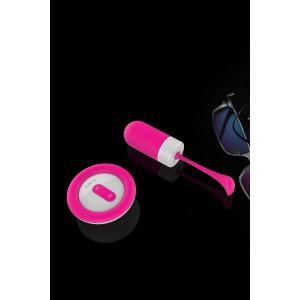 Виброяйцо с пультом ДУ Chorus, 7 режимов вибрации, розовый