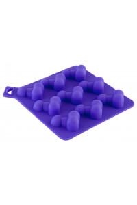 Формочка для льда, фиолетовая