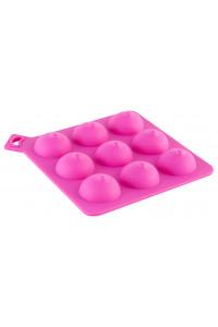 Формочка для льда, розовая