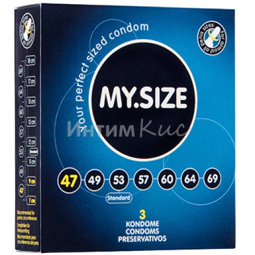Презервативы  ''MY.SIZE'' №3 размер 47 (ширина 47mm)