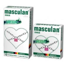 Презервативы Masculan Ultra 4,  10 шт.  Ультра прочные ШТ
