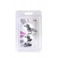 Вагинальные шарики TOYFA, ABS пластик, серебристые, ?3 см