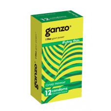 Презервативы Ganzo Ultra thine № 12Ультра тонкие  ШТ