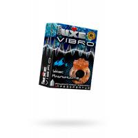 Виброкольцо LUXE VIBRO Ужас Альпиниста + презерватив, 1 шт