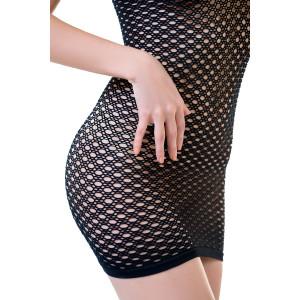 Платье-сетка Joli Falesia, черный, L/XL