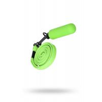 Вибратор-мини с ремешком на шею 6см зеленый