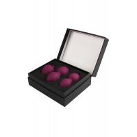 Набор вагинальных шариков Svakom Nova, силикон, фиолетовый