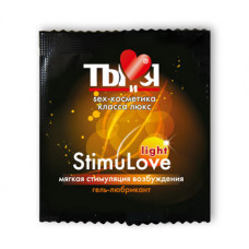 Гель-любрикант Ты и Я ''StimuLove light'' возбужд. 4г, 20 шт в упаковке