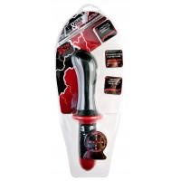 Вибратор TOYFA Black&Red с двойным мотором, силиконовый, черный, 15 см, ?5 см