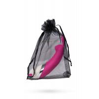 Мини-вибратор в форме кролика, розовый, 7 см