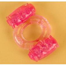 Виброкольцо розовый