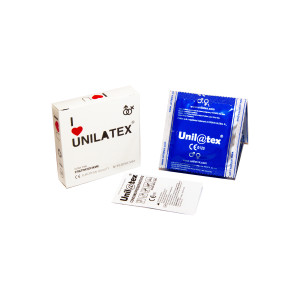 Презервативы Unilatex Natural Ultrathin  №3  ультратонкие