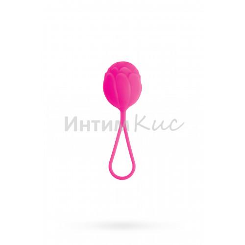 Вагинальный шарик TOYFA A-toys силиконовый, розовый
