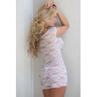 Linley - Ночная сорочка белая-M/L