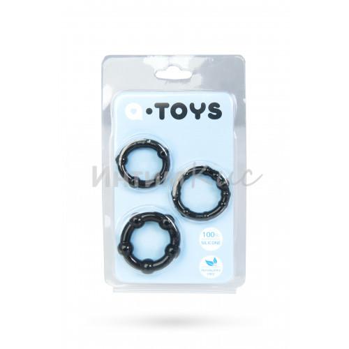 Набор колец A-toys, черные