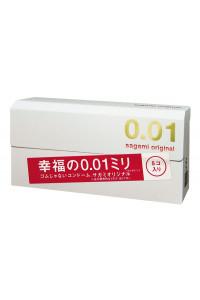 Презервативы полиуретановые супертонкие 0,01 мм Sagami №5