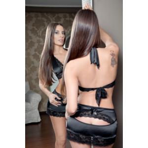 Комплект белья Anigue черный размер 46-48 2700-46-48
