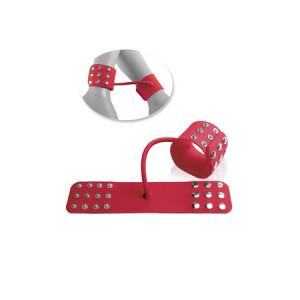 Силиконовые наручники FF ELITE - SILICONE CUFFS RED 457015PD