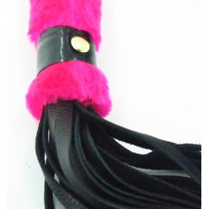 Нежная плеть с розовым мехом BDSM Light 740001ars