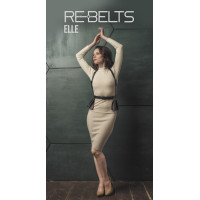 Портупея 3 в 1 Elle Black 7721rebelts